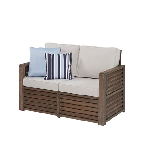 accent loveseat barnside loveseat with accent pillows homestyles