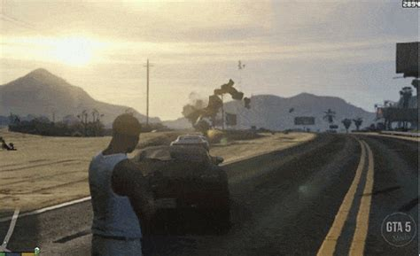 grand theft auto 5 mod turns cars into ammo