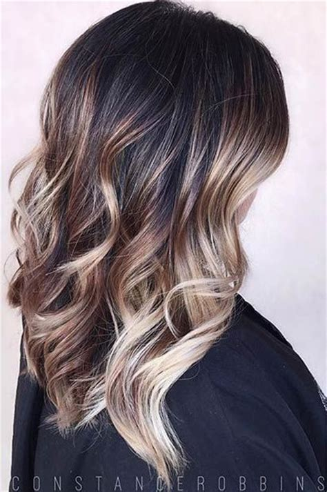 partial silver highlights 31 balayage highlight ideas to copy now silver blonde