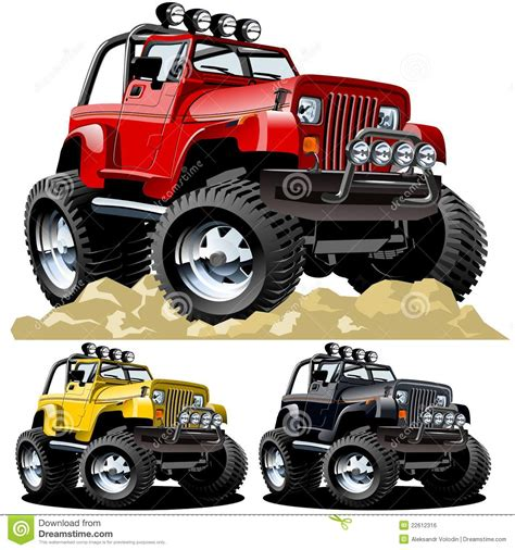 cartoon jeep vector cartoon jeep stock vector image of speed design
