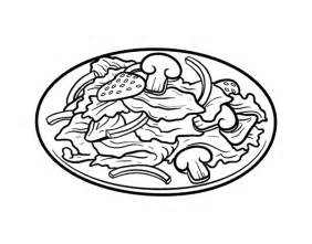 fruit salad coloring page salad colouring pages