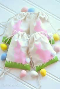 Easter Handmade Gifts - handmade easter bags easter diy is in the air