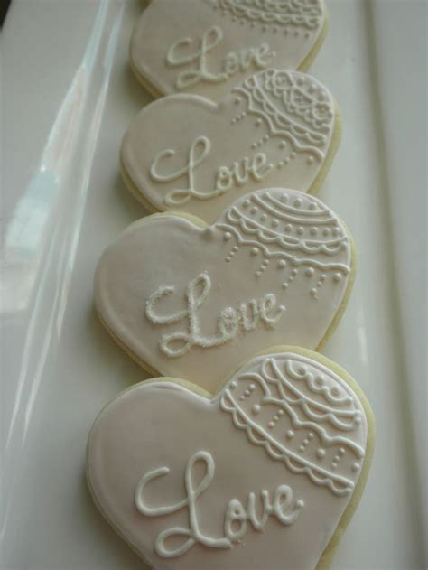 Best 25  Wedding Cookies ideas that you will like on