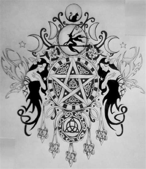 wiccan tattoos designs 25 best ideas about wiccan tattoos on pagan