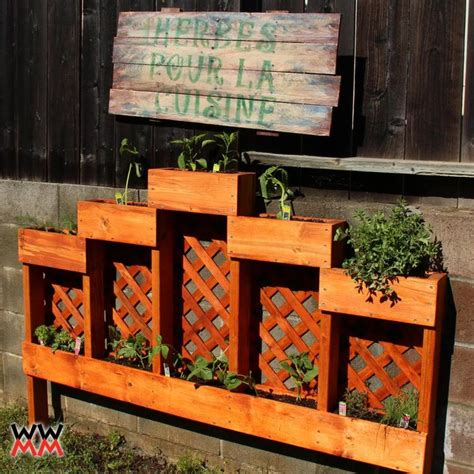 Vegetable Planters Plans by Free Vegetable Planter Box Plans Woodworking Projects Plans