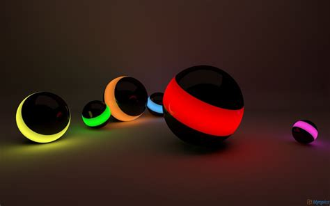 wallpaper 3d for laptop 3d hd colorful ball for laptop free download wallpaper