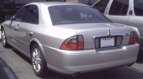 lincoln ls wiki file 03 05 lincoln ls v6 rear jpg wikimedia commons