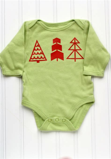 tree onesie 3 easy ways to create baby onesies with htv