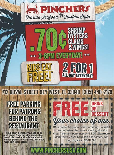printable restaurant coupons florida key west free drink coupon key west florida keys money