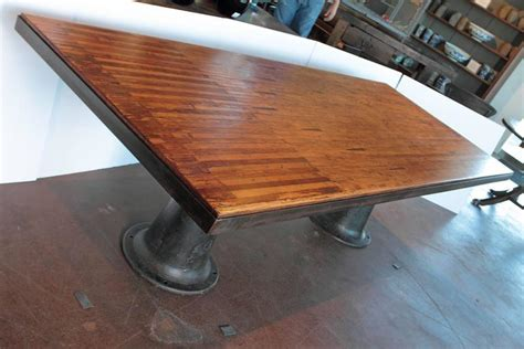 bowling alley table bowling alley dining table at 1stdibs