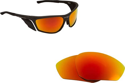 Rudy Project Spinhawk Black Orange Mirror Polarized new so polarized replacement lenses for rudy project zyon mirror