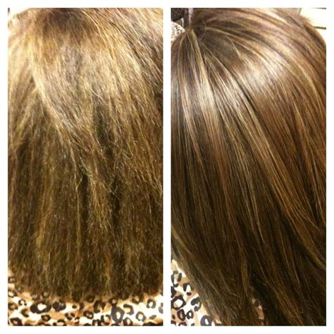 keratin treatment before and after highlight colors the o jays and keratins