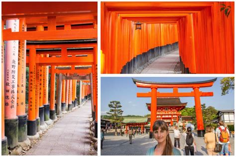 Hello Limited Kyoto Japan Orange gate shrine beautiful kyoto japan