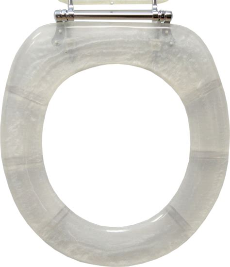 toilet seat decorative toilet seat pearl white standard