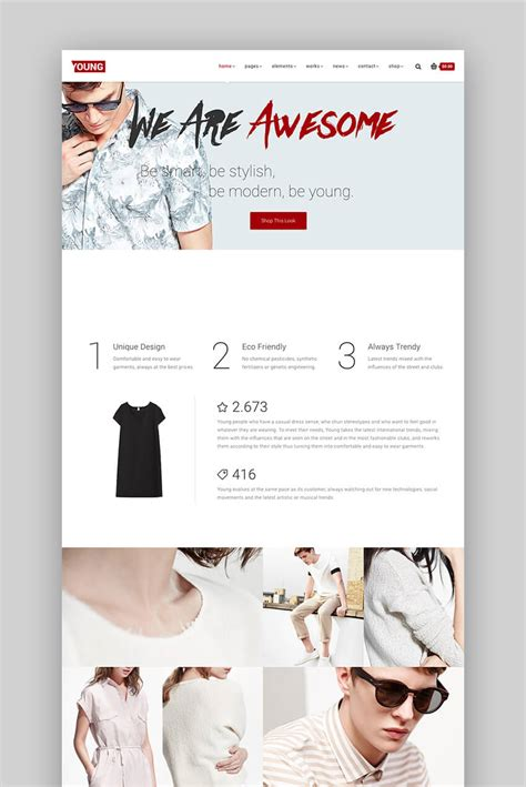 fashion design portfolio websites 17 best fashion wordpress themes 2017 for blog