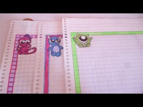 margenes para cuadernos margenes para cuadernos cartas ideas para decorar