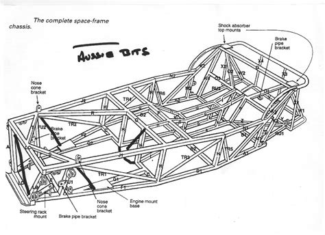 frame design for car lotus 7 chassis plans ariel atom chassis blueprints