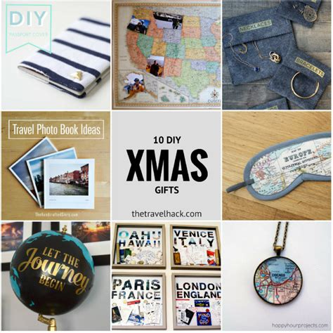 10 travel inspired diy christmas gifts