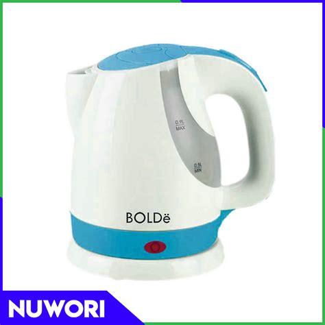 Teko Listrik Pemanas Air Kettle Electric Fleco Kapasitas 1 5 L electric kettle bolde kettle teko listrik biru nuwori