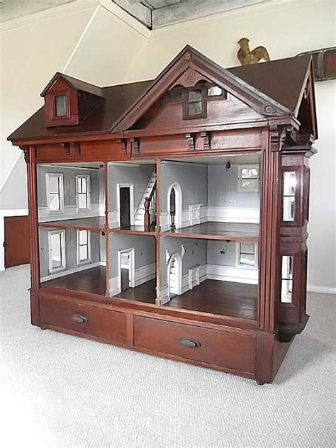 doll house cabinet important rare 1800 s antique massive cabinet american doll house mus