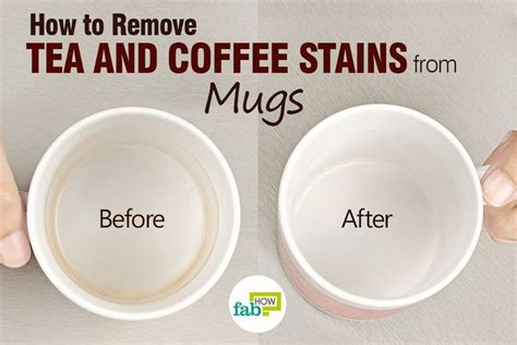 how to remove tea and coffee stains from cups and mugs fab how