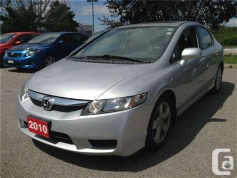 2010 hondas for sale used 2010 honda civic for sale in toronto v3254a for
