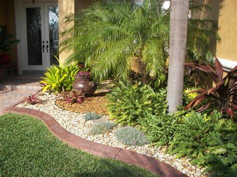 Tropical Rock Garden Landscape