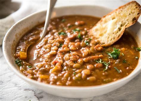 lentil soup recipetin eats