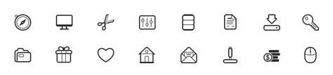 tutorial vector icon icon tutorials web icon set
