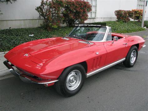 1965 corvette convertible chevrolet corvette convertible 1965 corvette convertible