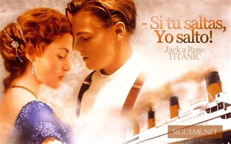 imagenes romanticas del titanic si tu saltas yo salto imagenes de amor