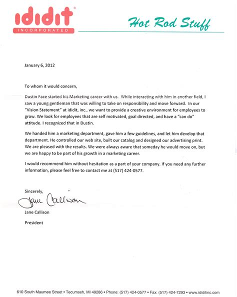 collection of solutions a work reference letter for work reference