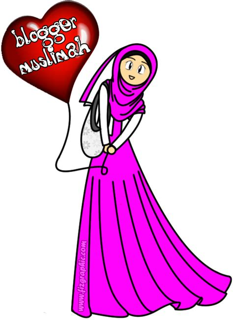 freebies doodle perempuan fizgraphic freebies doodle muslimah