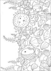 underwater world coloring pages for