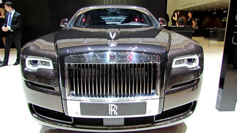 Auto Roll Royce Precio 2015 Rolls Royce Ghost Series Ii Exterior Interior