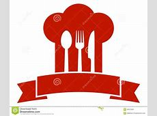 Restaurant Icon With Red Chef Hat Stock Vector ... W Hotel Logo Vector