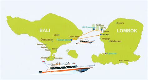 gili air boat schedule bali lombok gili island map gili gili fast boat route