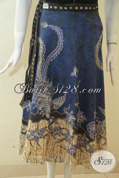 Rok Panjang Motif Batik Biru rok batik tulis biru kombinasi motif keren bawahan