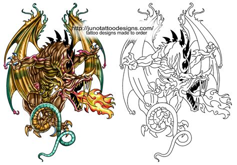 big dragon tattoo designs designs free archives how to create a 100