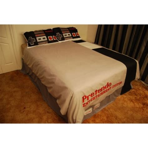 nintendo bed set nintendo bed set exclusive nintendo nes bed sheets for