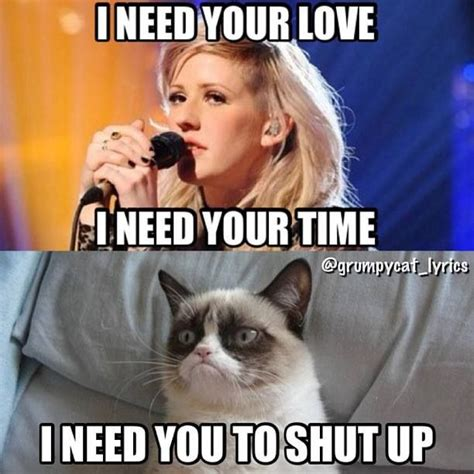 Funny Song Memes - grumpy cat pretty much sick tats yo pinterest