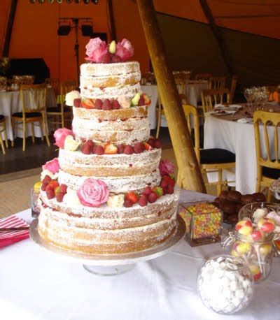 Wedding Cake No Icing by No Frosting Weloveweddings