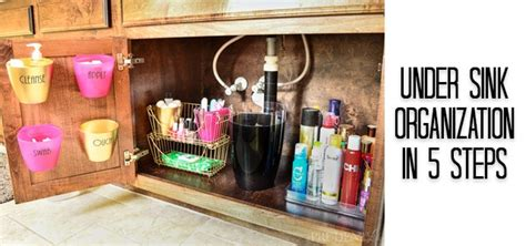 under bathroom sink organization ideas bathroom organization under the sink tips a prudent life