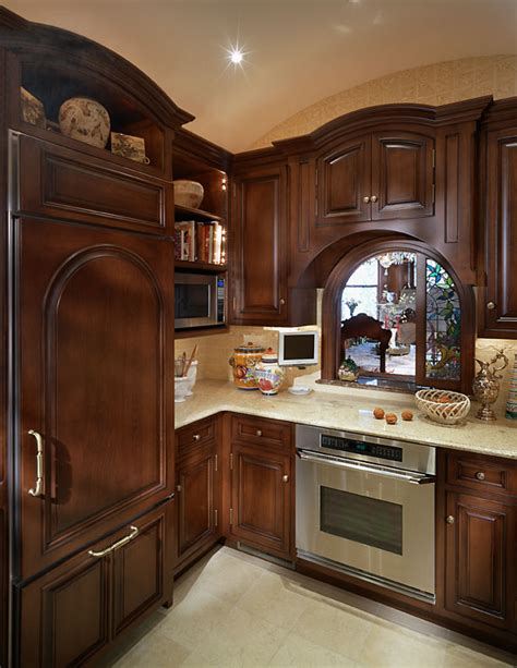 Kitchen Antique White Cabinets by