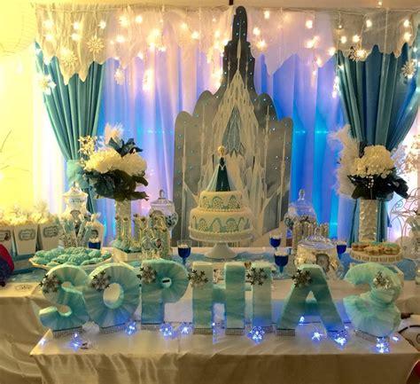 25 unique frozen table decorations ideas on
