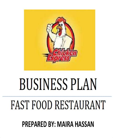 6 sle restaurant business plan exles in word pdf