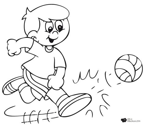 dibujos de ni os jugando para colorear az dibujos para colorear juegos populares pelota dibujalia dibujos para