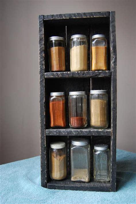 diy pallet spice rack diy pallet spice racks for kitchen pallets designs