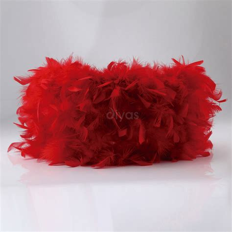 l shades direct uk diyas ils10632 arqus large red fluffy l shade