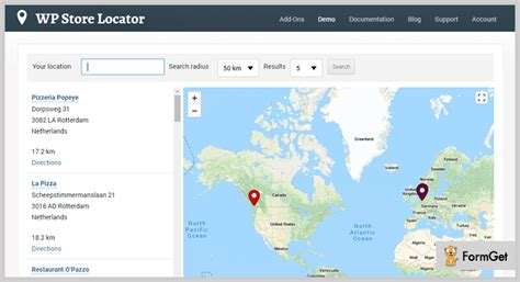 Free Store Finder 7 Store Locator Plugins Free And Paid Formget